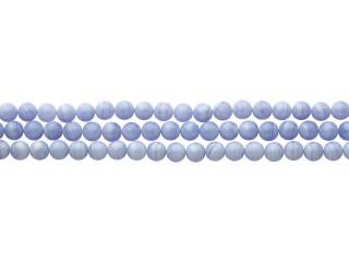 Blank 10 mm blue lace kæde