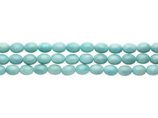 Blank 12x15 mm amazonite peru kæde