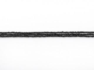 Facetteret 2-3 mm spinel kæde 95 cm