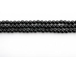 Blank 8 mm onyx kæde